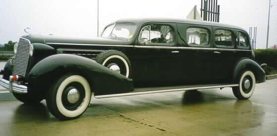 Cadillac Lasalle Club Of Australia Graham S 1936 Limousine