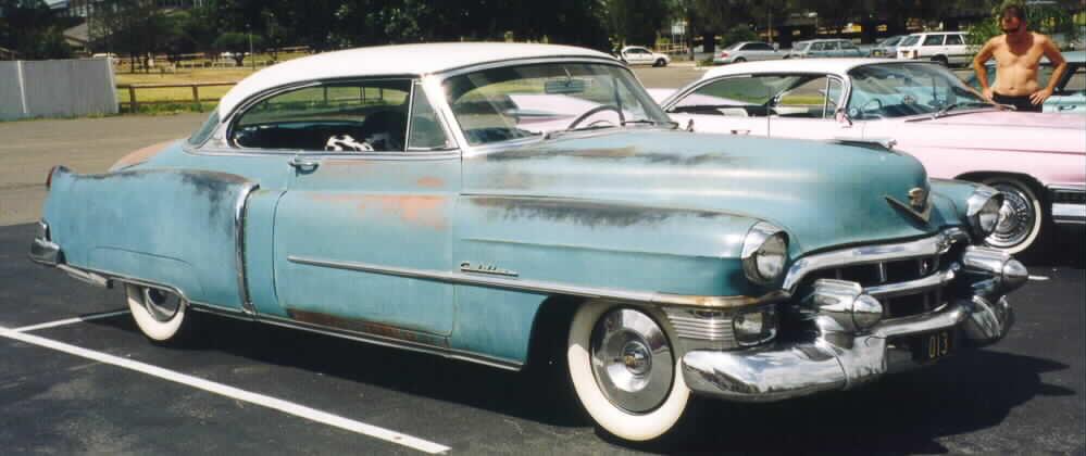 Cadillac LaSalle Club of Australia Frank's 1953 Coupe de Ville