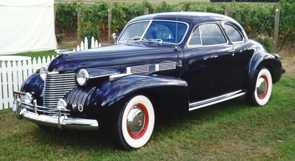 V on 1940 Cadillac V16 Engine